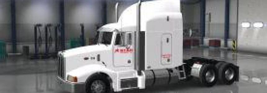 Star Transport Inc. company skin for AMT's Peterbilt 377