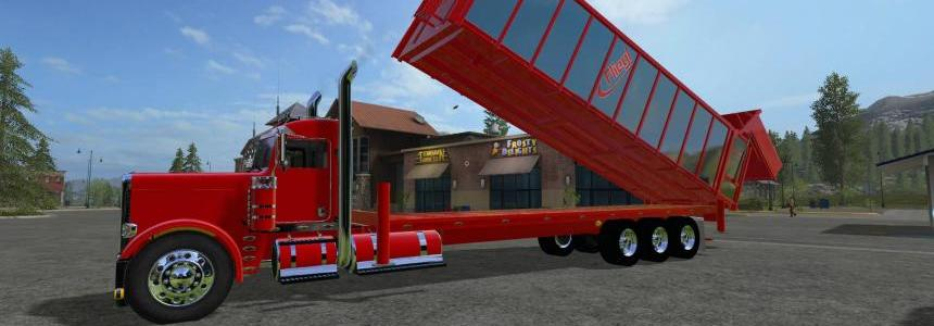 Tipper Bed For Custom Peterbilt 388 V2