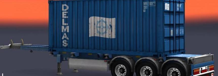 Trailer Container Delmas