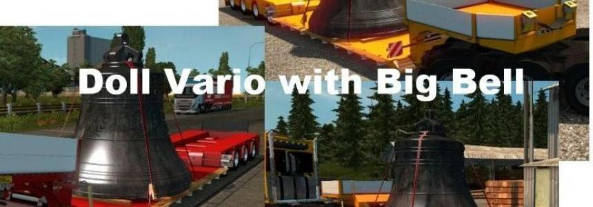 Trailer Doll Vario with Big Bell