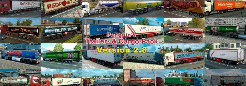 Trailers and Cargo Pack Penguins v2.8