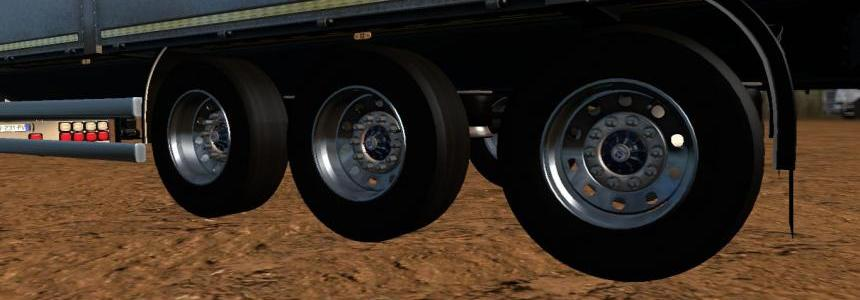 Trailers wheels  1.24 1.26