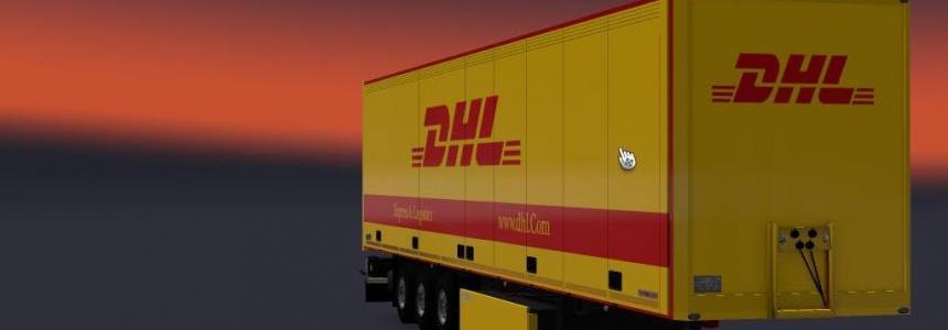 TZ Schmitz trailer Dhl Skin 2017