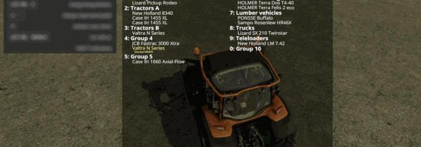 Vehicle Groups Switcher VeGS v1.0.2.25