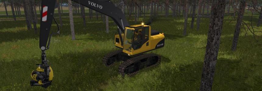 Volvo 210B Forest v1