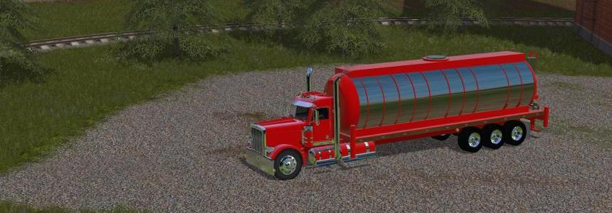 Water Tank For My Peterbilt 388 Custom v1
