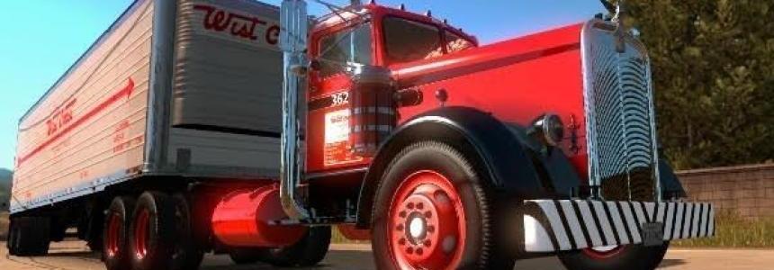 West Coast Kenworth 521 Truck + Trailer
