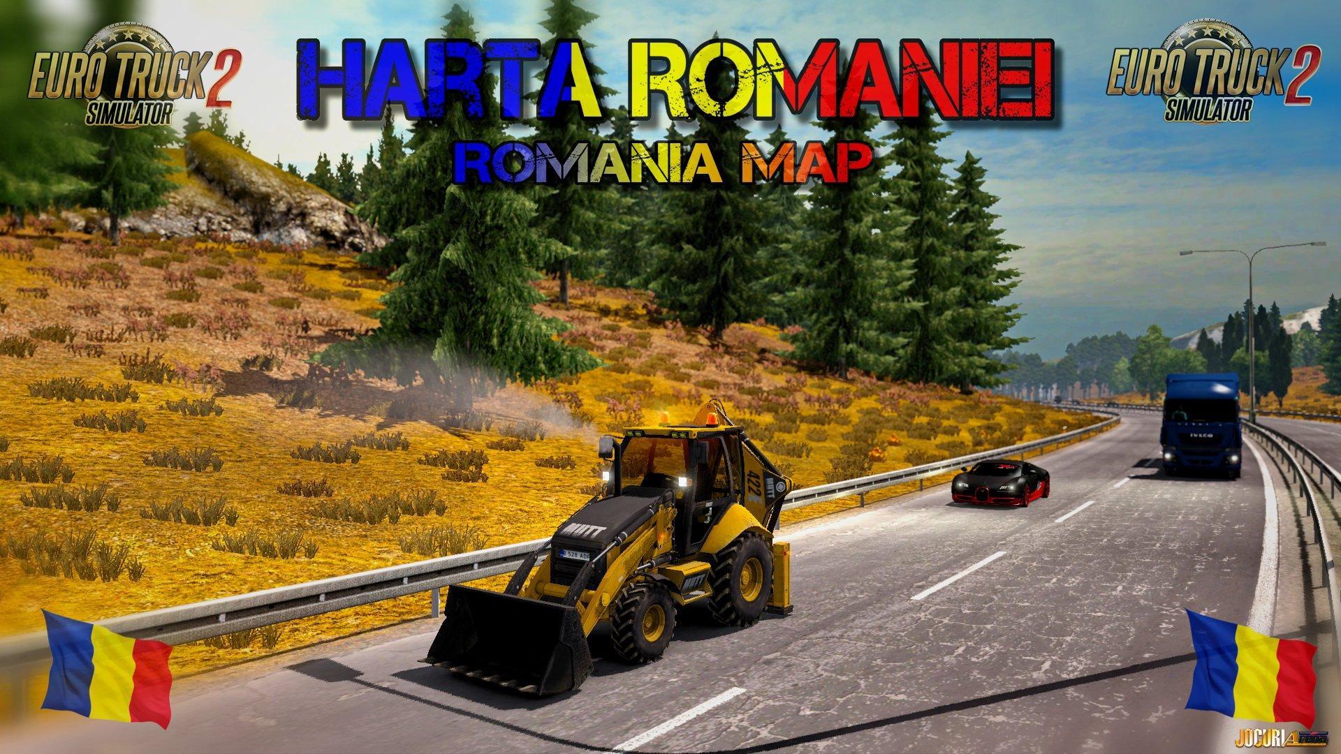 Map Of Romania V X Modhubus - Romania in us map