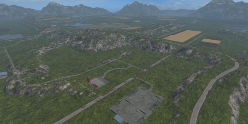 NORWAY MAP V Modhubus - Norway map fs 15