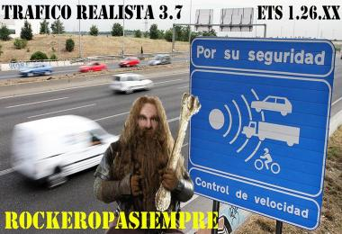 Realistic traffic v3.7 by Rockeropasiempre for 1.26.x
