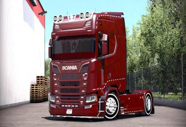 Scania S580 Tuning 1.26.x