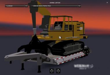 Bulldozer Trailer Mod v1.0