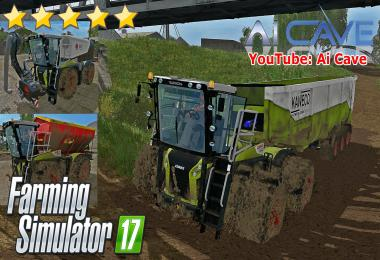 CLAAS XERION 4000 ST PACK BY QWARES17