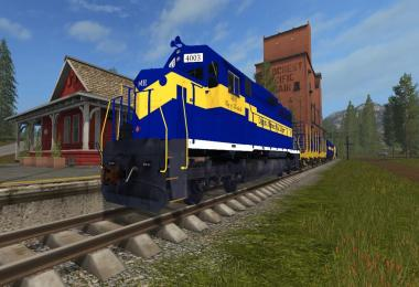 DM&E Train Skin Addon v1.0