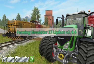 Farming Simulator 17 Update v1.4.4