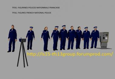 FIGURINE POLICE NATIONALE  FS17 v1.0
