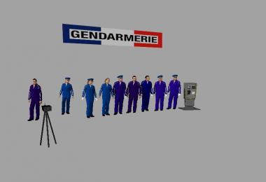 FIGURINES GENDARMERIE FS17 v1.0