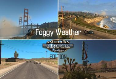 Foggy Weather v1.7.1 Let's make America Foggy again (ATS Edition)