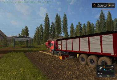 Forage semi trailer v1