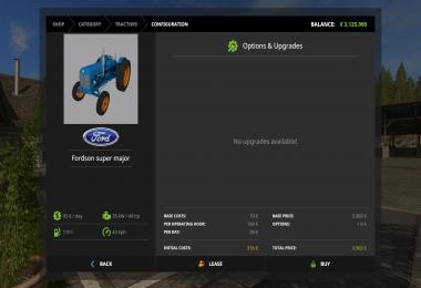 Fordson super major v1.0 Beta