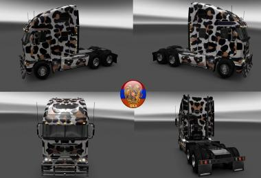 Freightliner Argosy Leopard Skins 1.26.5.1s