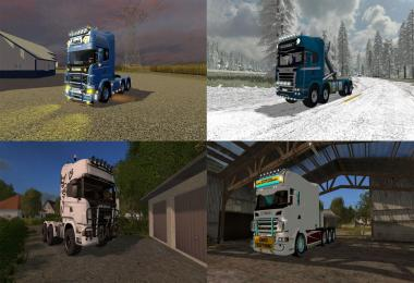 FS17 Pack V1 – Scania Trucks Pack v1.0