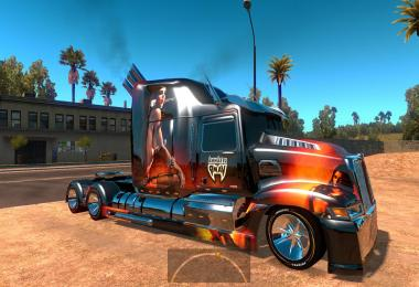 Heavy truck: Optimus Prime, Western Star 5700 ATS 1.5.3s