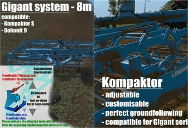 ITS Lemken Kompaktor v2.4.5 + Gigant v2.5