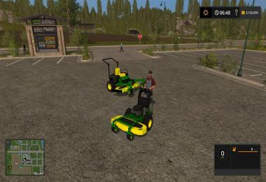 John Deere Zero turn Converted from FS15 to FS17 v1.3