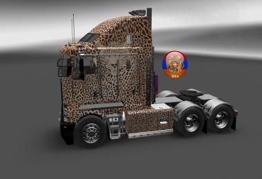 Kenworth K200 W900 Long Leopard Skin 1.26.5.1s