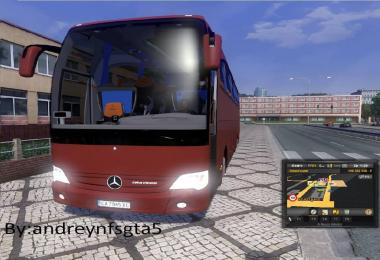 Mercedes Travego with BG-Plates v1.0