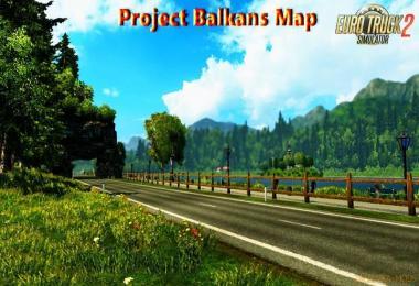 Projekt Balkan Karte als ProMods Addon V 2.3