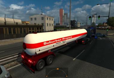 Propane Standalone Gas Trailer