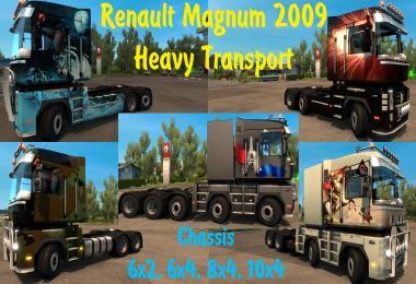 Renault Magnum Heavy Transport 6x4, 8x4 & 10x4 1.26