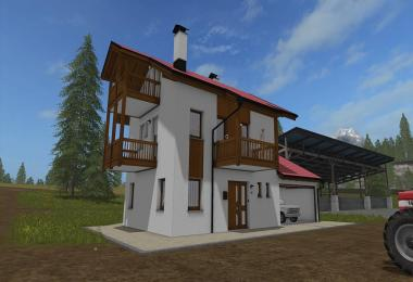 Residential house with garages v1.0