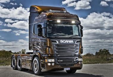 Scania R560 Noel Trans V8 Sound 1.26.х