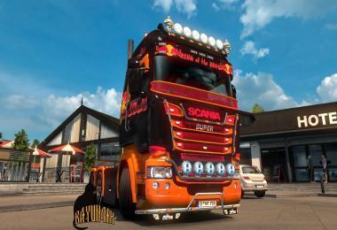 Scania R&S Highline Red Bull skin 1.26