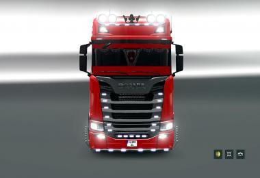 Scania S580 + Citern Tanker Trailer v1.0