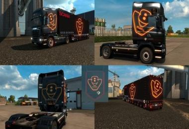 Scania Special V8 Pack v3.1 (Game 1.26)