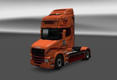 Scania T Mad Dog skin v1