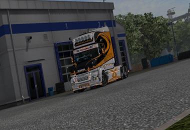 Skin Lines Scania T Color v1.0