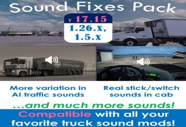 Sound Fixes Pack v17.15 for ATS