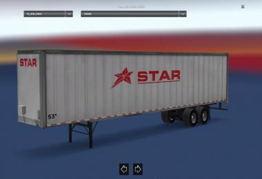 Star Transport Inc. 53 Trailer v1