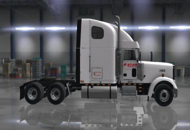 Star Transport, Inc. company skin for Oddfellow's Freightliner XL v1.0
