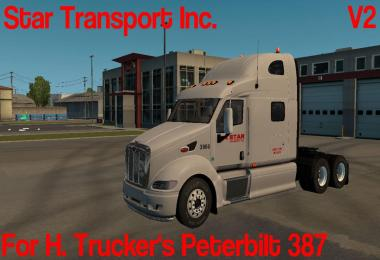 Star Transport Pete 387 v2.0 for ATS v1.5.3