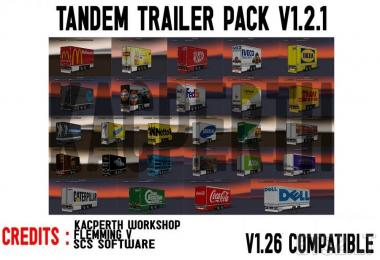 Tandem Trailer Pack v1.2.1 Fixed