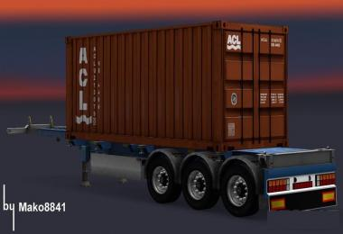 Trailer Container Atlantic Container Line v1
