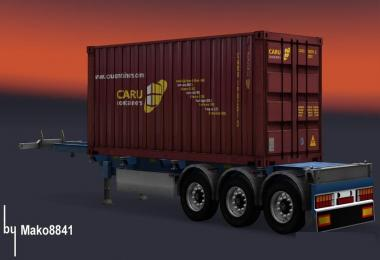 Trailer Container Caru v1.0