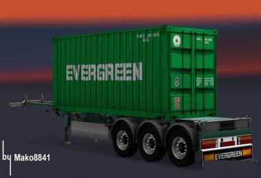 Trailer Container Evergreen v1