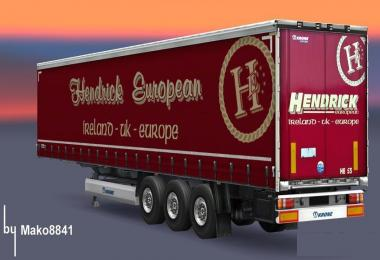 Trailer Krone Profi Liner Hendrick European